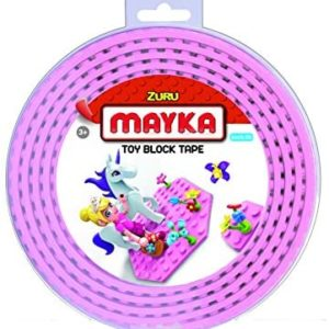Zuru Mayka 4 Stud Block Tape Assorted 2metre