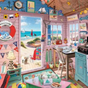 Ravensburger My Haven No. 7 Beach Hut Puzzle 1000pc