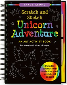 Scratch & Sketch Unicorn Adventure Book