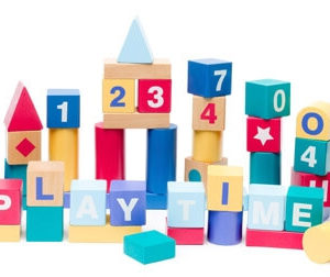 Build and Play Alphabet and Numbers Blocks