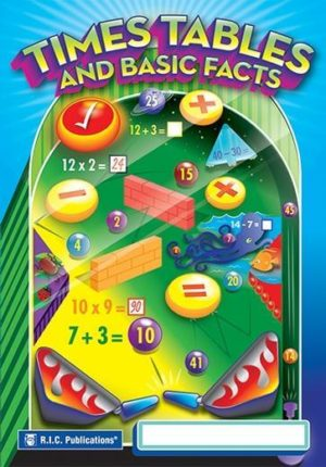 Times Tables and Basic Facts Workbook