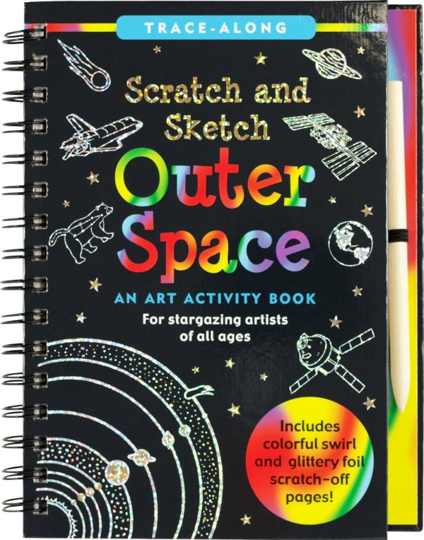 Scratch & Sketch Outer Space Trace-Along
