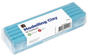 Sky Blue Modelling Clay 500g