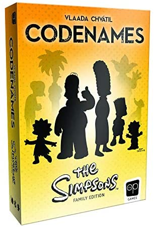Codenames Simpsons Card Game