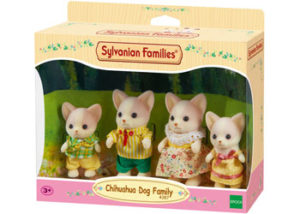 SF 4387 Chihuahua Dog Family