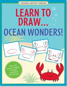 Learn To Draw Ocean Wonders Book