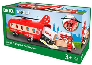 Brio 33886 Cargo Transport Helicopter 8pc
