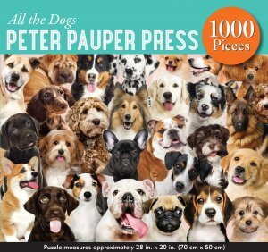 All the Dogs Puzzle 1000pcs