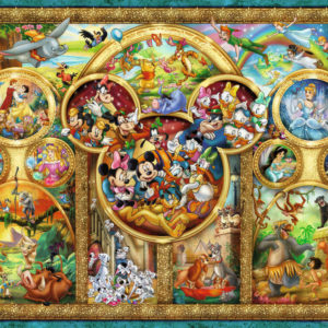 Ravensburger Disney Family Puzzle 500 Pc