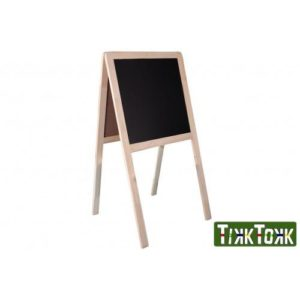 Easel 2-in-1 Chalkboard/Whiteboard