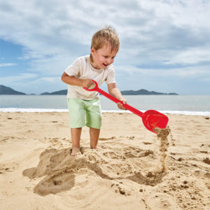 Hape Sand Shovel Red 55cm