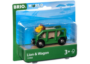 Brio 33966 Safari Lion and Wagon