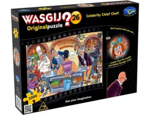 Wasgij? Original 26 Celebrity Chief Chef Puzzle
