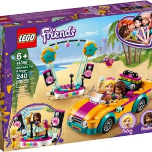 LEGO Friends 41390 Andrea's Car & Stage