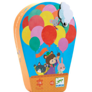 Djeco DJ7270 The Hot Air Balloon Puzzle 16pc