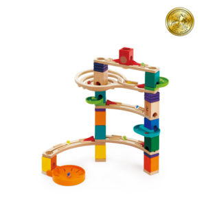 Hape Quadrilla Marble Run Cliffhanger 44pc + 50 Marbles
