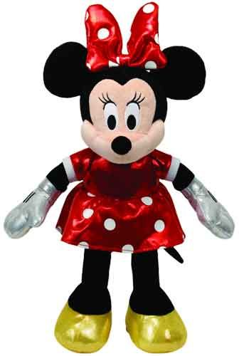 Beanie Boo Minnie Mouse Red Sparkle