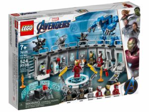 LEGO Marvel Avengers 76125 Iron Man Hall of Armor