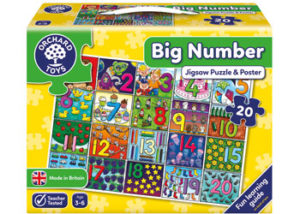 Orchard Toys Big Number Puzzle & Poster