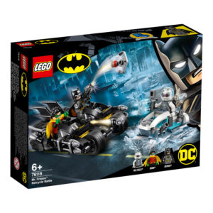 LEGO DC Comics Super Heroes 76118 Mr. Freeze™ Batcycle™ Battle
