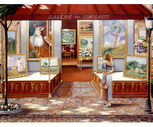 Ravensburger Gallery of Fine Art Puzzle 3000pc
