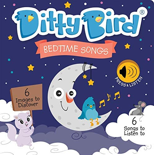 Ditty Bird Bedtime Songs Book