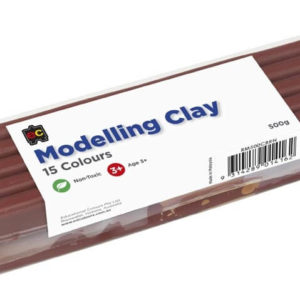 Modelling Clay 500g Brown