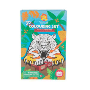 Tiger Tribe 3D Colouring Fierce Creatures