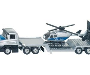 Siku 1610 Low Loader with Helicopter 1:87 Scale