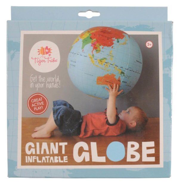 Inflatable World Globe 50cm Tiger Tribe