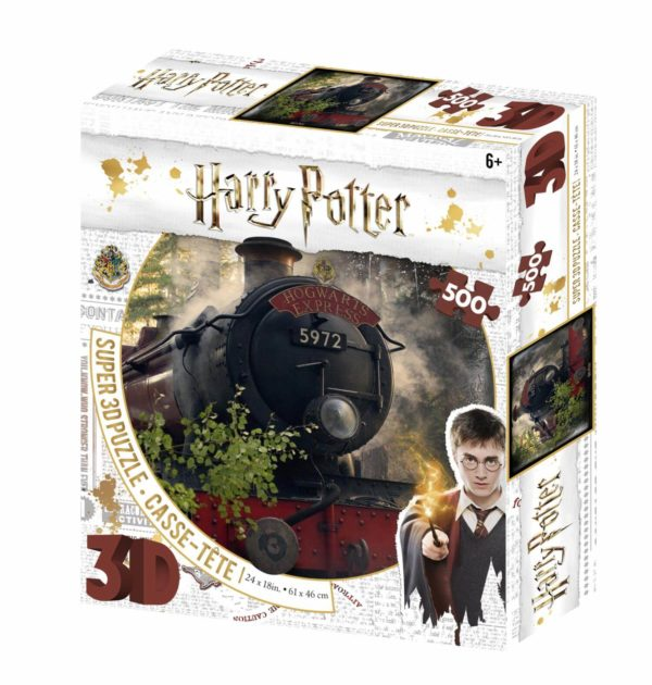 Hogwarts Express Harry Potter 3D Prime Puzzle 500pc