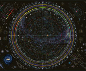 Ravensburger Map of the Universe Puzzle 1500pc