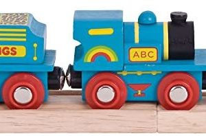 BigJigs Blue ABC Engine