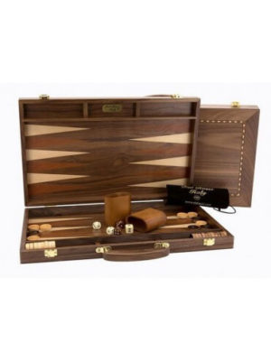 Dal Rossi Backgammon Walnut 38cm