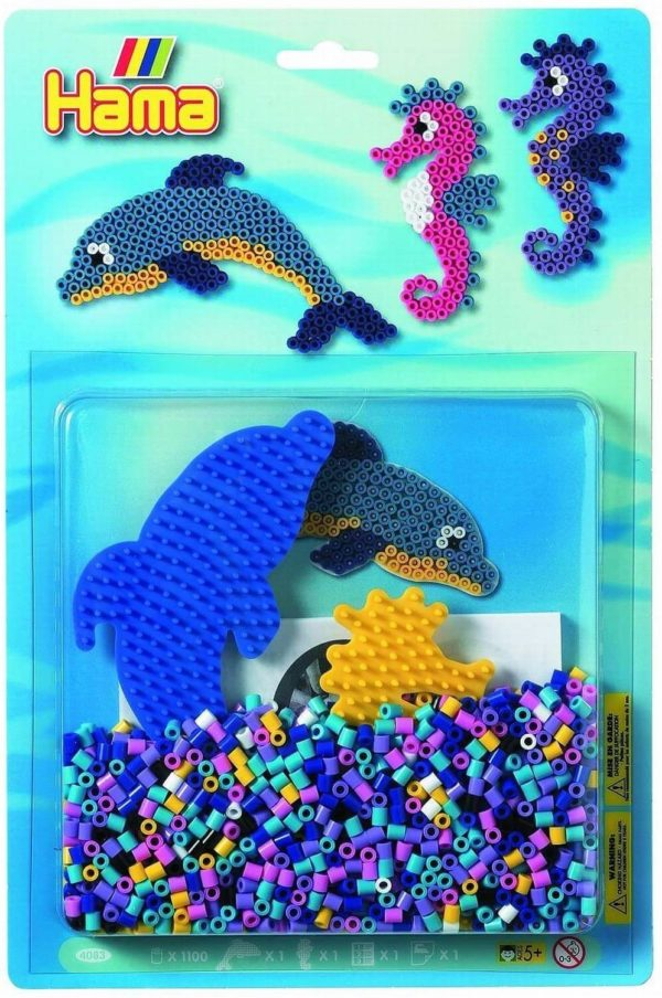 Hama 4083 Dolphins And Sea Horse