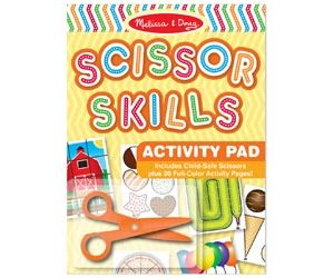 M&D Scissor Skills Activity Pad