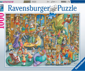 Ravensburger Midnight at the Library Puzzle 1000pc