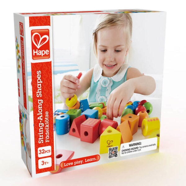 Hape String A Long Shapes