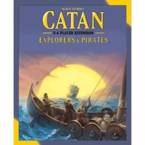 Catan Expansion Pirates and Explorers