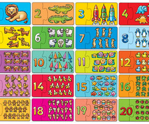 Orchard Toys Match & Count Activity Puzzle