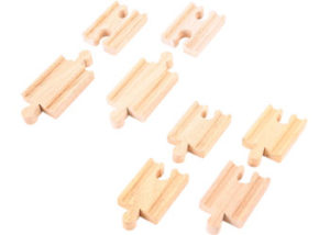 Bigjigs Mini Track 8pcs
