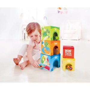 Hape Friendship Tower 9pcs