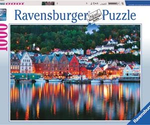 Ravensburger Bergen, Norwegen 1000pc Puzzle