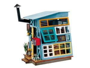 DIY Wooden Hut House Miniature