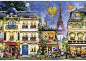 Ravensburger Evening Walk in Paris 18000pc Puzzle