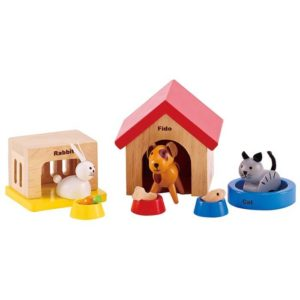 Hape Family Pets All Seasons Dollhouse