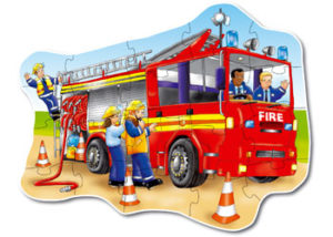 Orchard Toys Big Fire Engine Floor Puzzle 20 Pcs