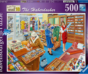 Ravensburger The Haberdasher Puzzle 500pc