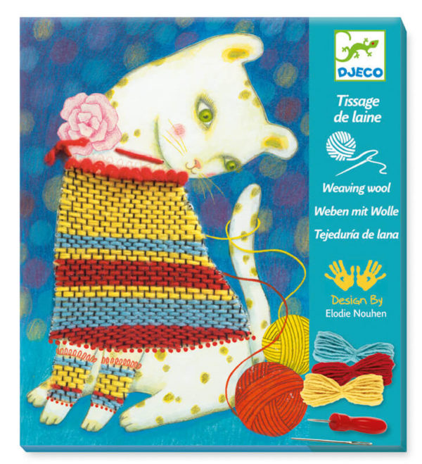 Djeco DJ9833 Wooly Jumper Weaving Kit