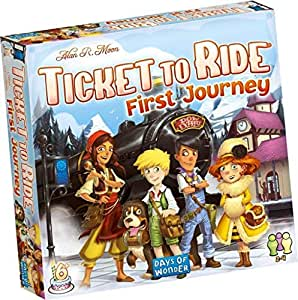 Ticket to Ride First Journey Game
